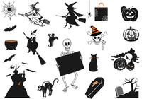 Ensemble de brosses Spooky Halloween