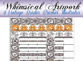 8-vintage-lace-border-brushes-for-illustrator