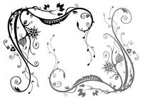Floral-swirl-brushes-pack