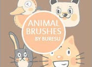 Animal Brushes Vol.1 door Buresu :)