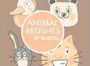 Animal Brushes Vol.1 by Buresu :)