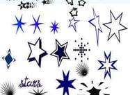 Stjärnor borstar