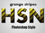 Grunge Streifen Stil