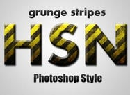 Style rayures grunge
