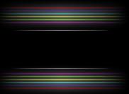 Pincéis abstratos das linhas brilhantes