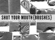 Shut Your Mouth - Duct Tape Brushes