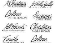 Christmas-text-brushes