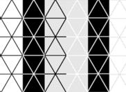 Driehoek patroon - tegelbaar