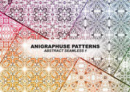 Resumen Seamless Pattern Set (Abstract) 1 por Anigraphuse