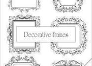 Decoratieve Frameborstels