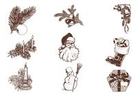Vintage-christmas-brush-pack-photoshop-brushes