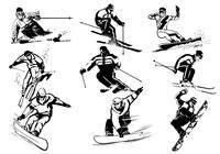 Winter Sport Brushes Pack