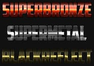 4 Metal Lightning Text Styles