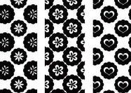 Happy Circles Floral Pattern