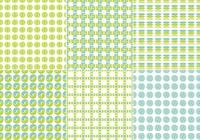Blue and Green Seamless Pattern Pack