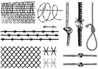 Rope Free Brushes - (68 Free Downloads)