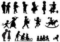 Children-s-silhouettes-brush-pack-photoshop-brushes
