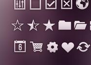 40 formes d'icônes ui