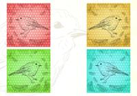 Birds of a Feather Wallpaper and Brush Pack