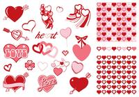 Valentine's Day Brush and Pattern Pack