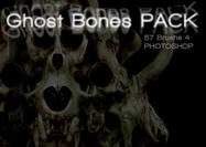 Ghost bones brush pack camisole pictures