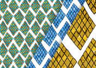 Argyle mosaik