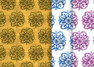 Painted-floral-patterns