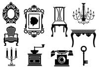 Vintage Furniture Brush Pack
