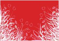 Heart Flower Wallpaper och Heart Brush Pack