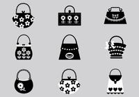 Black-and-white-handbag-brush-pack-photoshop-brushes