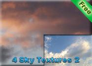 4 Himmel Texturen 2