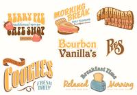 Vintage Food Advertising Brush Pack