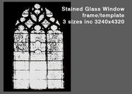 Stained-glass-window-psd-template