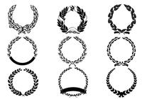Laurel Wreath Brush Pack