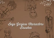 Gorjuss Boys Borstels