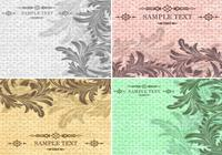 Textured Vintage Background PSD Pack
