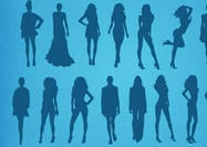 Fashion Silhouetten Shapes Models