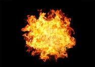 Bola de fuego de explosión