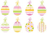 Decorative Easter Egg Tag Brush Pack