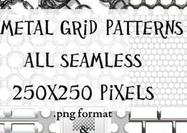 Metal-grid-patterns