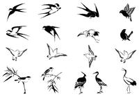 Flying Bird Brushes Pack