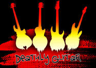 Pinceles da guitarra do Deathly