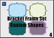 Bracket Frame Shape Set