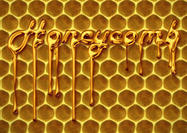 Real-honeycomb-pattern