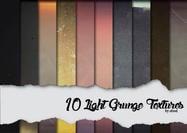 10 texturas de luz del grunge