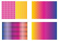Colorful Funky Background Pack