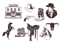 Cowboy Brushes Pack