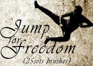 Jumping Brushes for freedom (25 set Brushes)