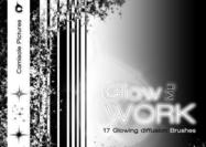 Glow my Work - Glow Brushes pack by Camisole Pictures