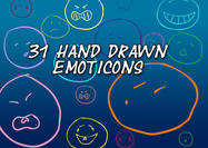 31-hand-drawn-emoticon-shapes